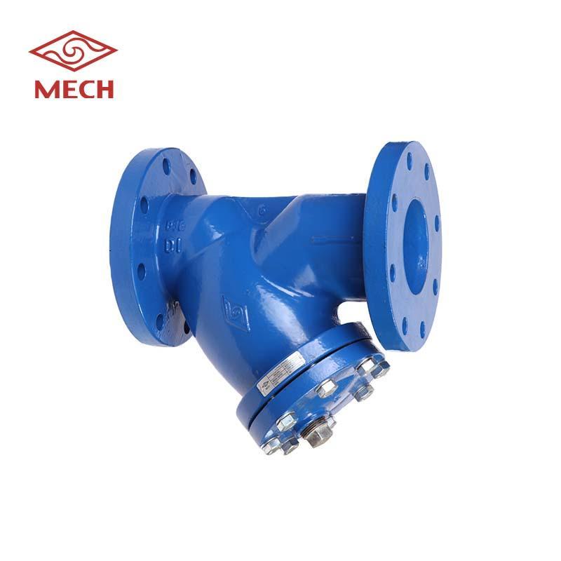 用于水的y型V4 PN10/16过滤器阀